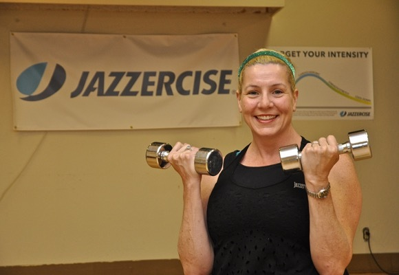 Meredith Ozbil of Jazzercize in Menlo Park