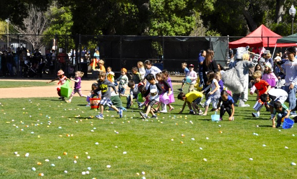 Easter egg hunts planned for Menlo Park and Atherton