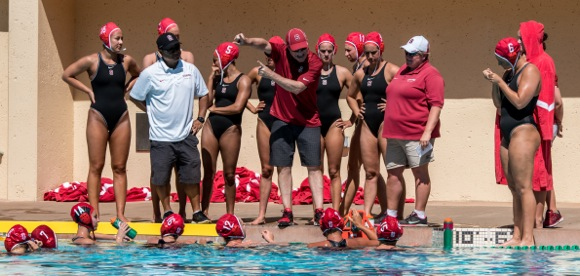 Former M-A swimmers/water polo players square off against each other as college team coaches