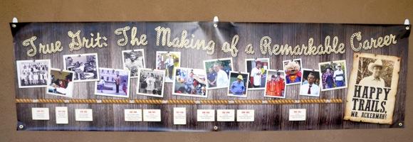 Bidding a fond farewell – and hearty thanks – to Oak Knoll School principal David Ackerman