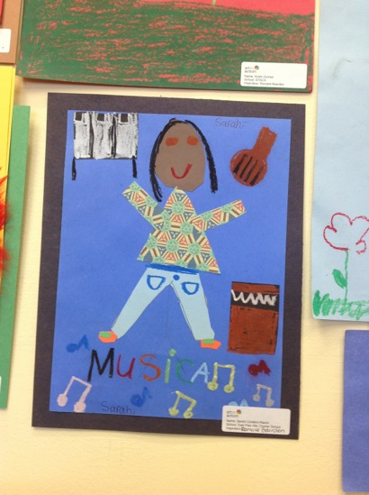 Art work from Belle Have Elementary School on exhibit through the summer thanks to Art in Action program