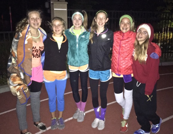 Hillview School hosts Glow in the Dark Relay for Life fundraiser