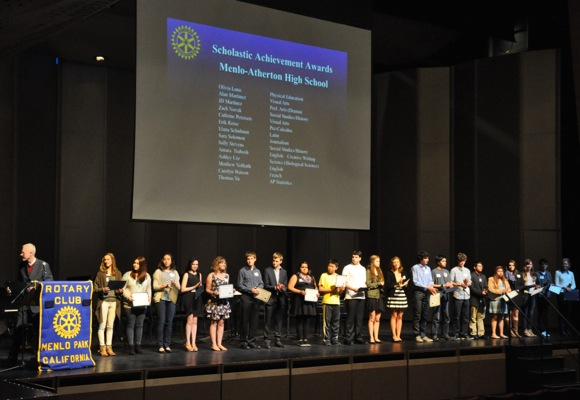 Post image for Spotted: Rotary Club of Menlo Park achievement award winners at M-A PAC