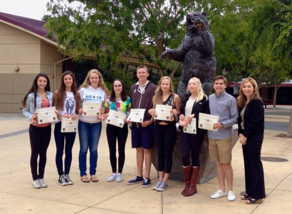 Nine M-A students honored for their volunteer service to greater community