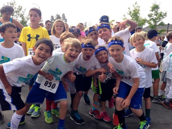 boys at race