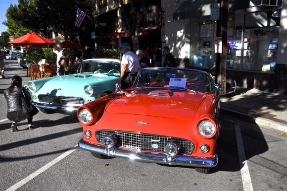 Post image for Classic cars take center stage at Downtown Menlo Park Block Party held last night