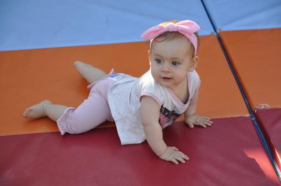 Baby in diaper derby