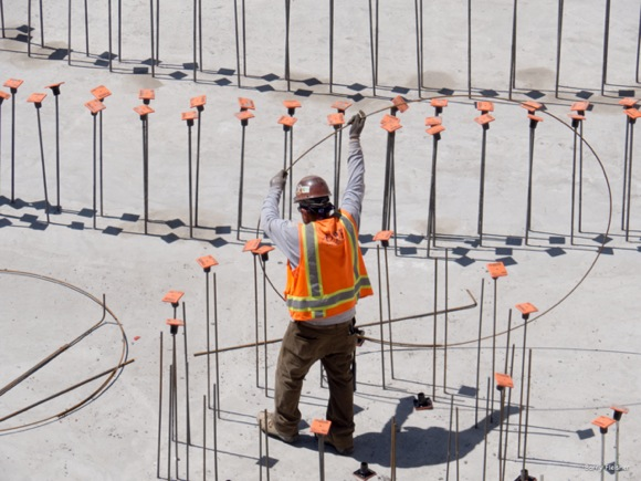 Menlo Park-based photographer Barry Fleisher continues his project focused on LPCH construction