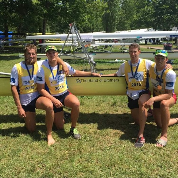 Seth Weil from Menlo Park wins gold as part of men's four crew at World Cup 2