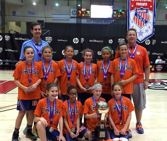 4th grade girls basketball team from Menlo Park shines on national stage
