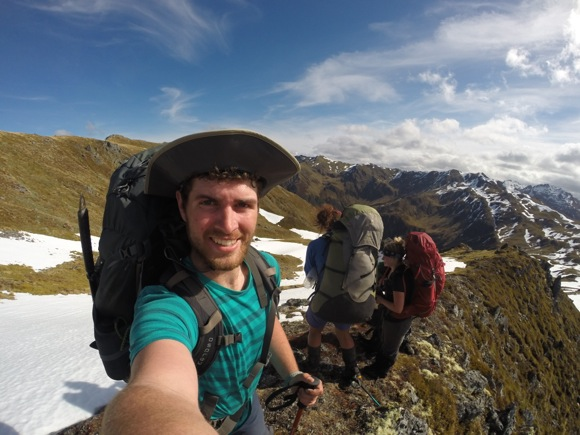 Menlo Park resident Jonathan Nash participates in National Outdoor Leadership School