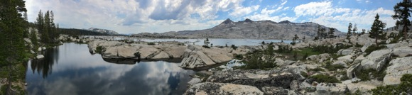 Photographer Frances Freyberg captures Sierra scenes, covering 100 miles on foot
