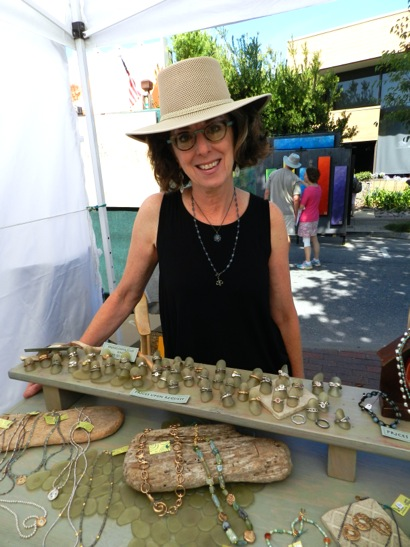 Connoisseurs' Marketplace is taking place this weekend in downtown Menlo Park