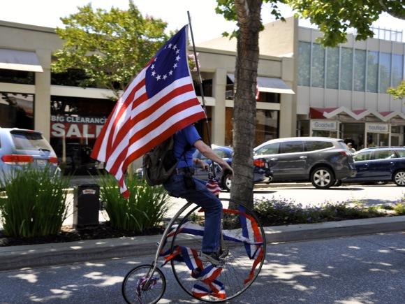 flag with unique bike_hori