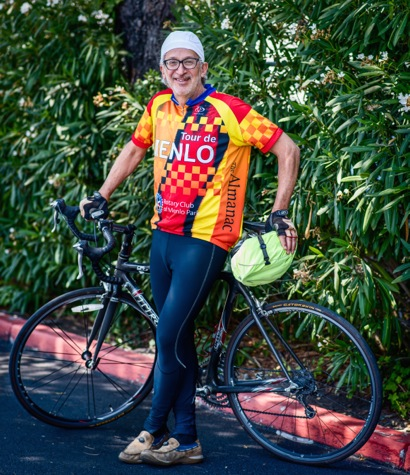 Brian Greenberg gives Tour de Menlo, scheduled for August 22, a big thumbs up