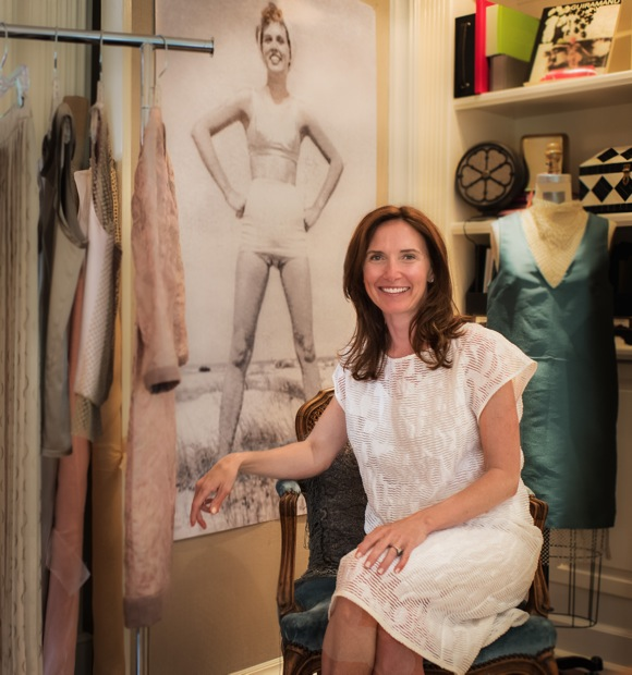 Carley Rydberg draws from her background in fashion design to launch clothing line