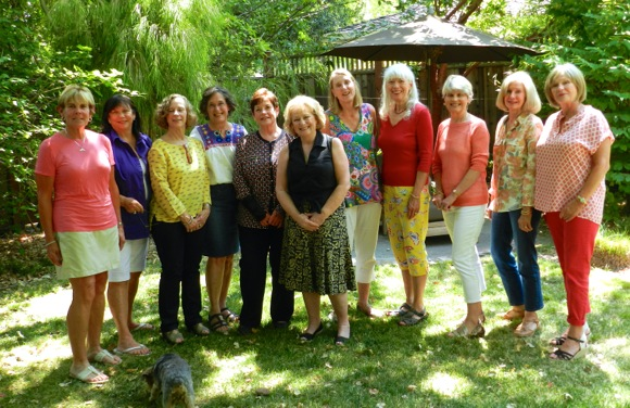 Post image for Spotted: Gals from M-A & Woodside high school class of 1966 catching up
