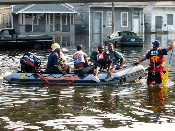 Evacuating victims