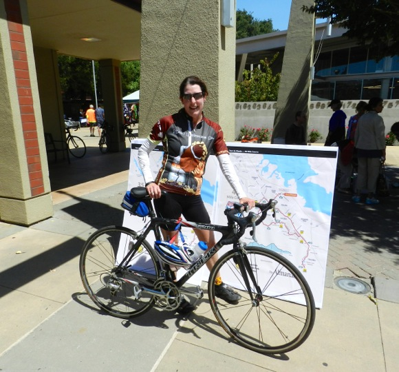 Another successful Tour de Menlo wraps up with lunch at Menlo-Atherton High School