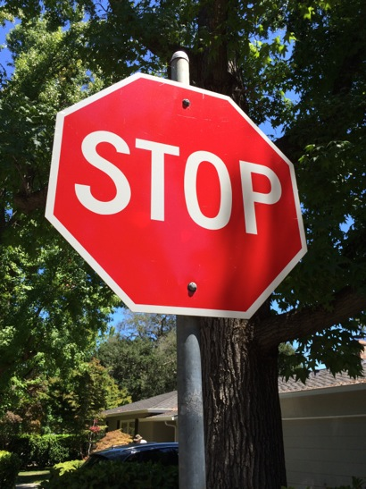 Post image for Opinion: Surprise outcome to driver running a stop sign in Menlo Park
