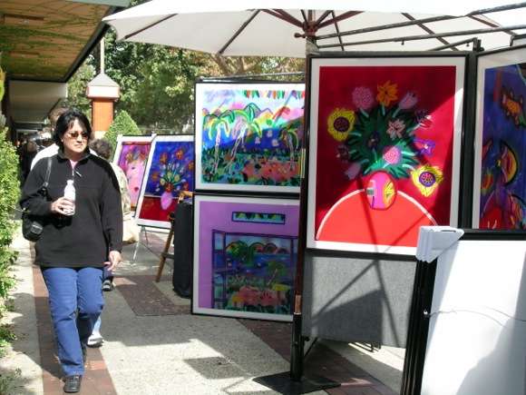 Post image for Sidewalk Fine Arts & Crafts Fall Fest runs Sept. 30 to Oct. 2 in downtown Menlo Park