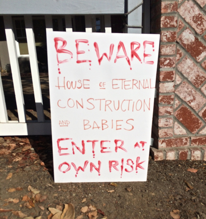 Spotted: Different kind of Halloween warning