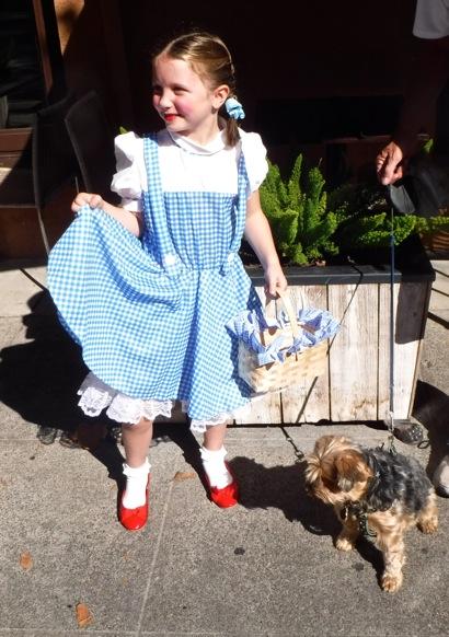 Dorothy and Toto aka Maggie