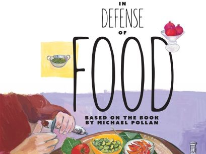Documentary film In Defense of Food is topic on May 20