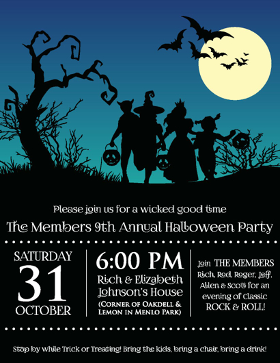 The Members hosts 7th annual Halloween gig