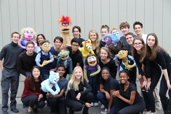 "Post image for Menlo School Drama Department stages ""Avenue Q"""
