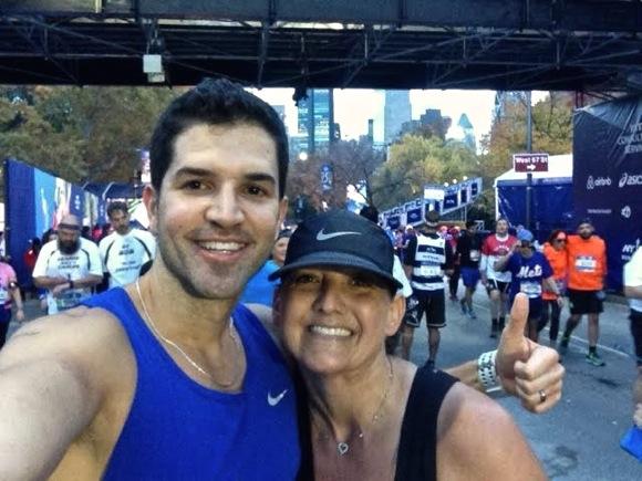 Christy Ericson completes an inspirational New York City Marathon on Nov. 1