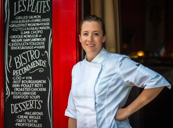Chef Marine Thomas brings French flair to Bistro Vida in downtown Menlo Park