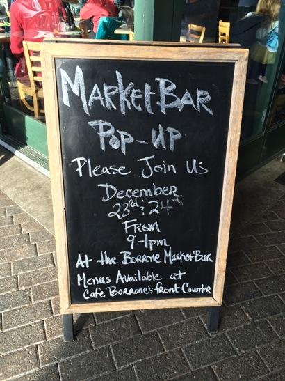 Good news for fans of Borrone MarketBar