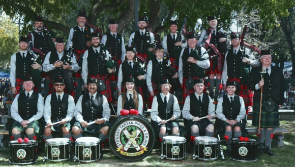 Post image for It will be a Scottish Christmas this Saturday in Menlo Park thanks to the Stewart Tartans