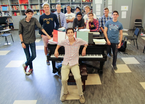 Post image for Vocalist and performer Lucas Loaiza inspired the launch of two popular glee clubs at Menlo School