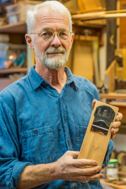 woodworker Mike Laine