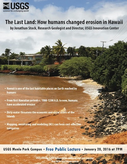 Post image for USGS evening lecture examines how humans changed erosion in Hawaii