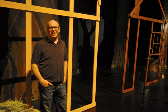 Post image for Technical director Andy Hayes guides behind the scenes action at M-A Performing Arts Center