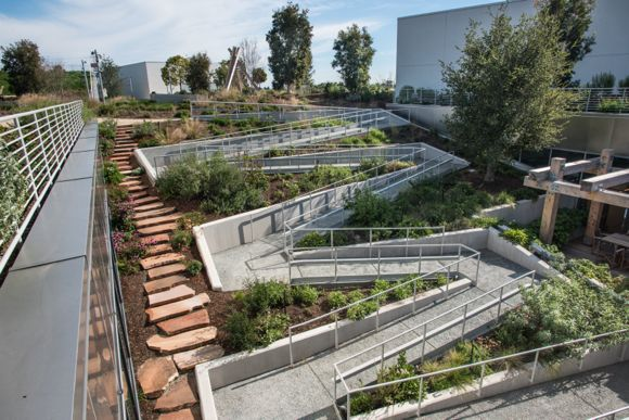 Facebook rooftop garden_ramp