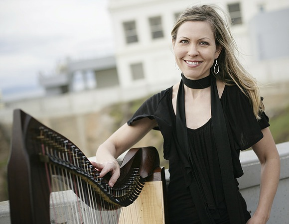 Post image for Harpist Krista Strader to perform free concert at Menlo Park Library