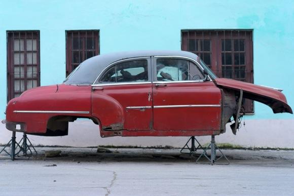 car on stilts_Betsy