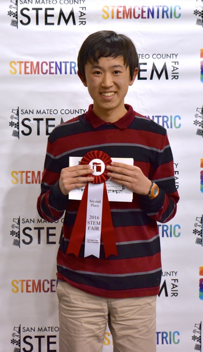 Two local students take Grand Prizes in San Francisco Bay Area Science Fair