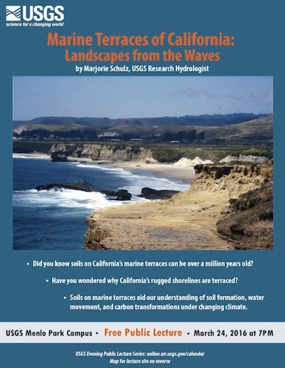 Post image for Marine terraces of California is USGS evening lecture topic on March 24