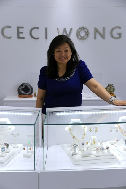 Thanks to Ceci Wong – the woman and the store – there's still a jewelry store in downtown Menlo Park