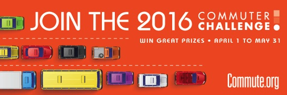 Post image for 2016 Commuter Challenge kicks off on April 1st