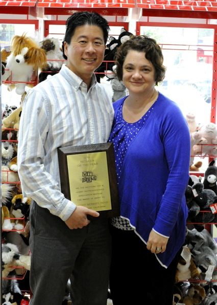 Cheeky Monkey honored as Retailer of the Year by toy association