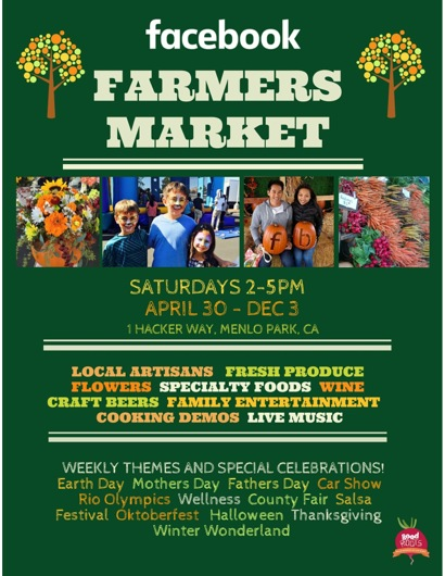 Post image for Facebook Farmers Market returns on Saturday, April 30