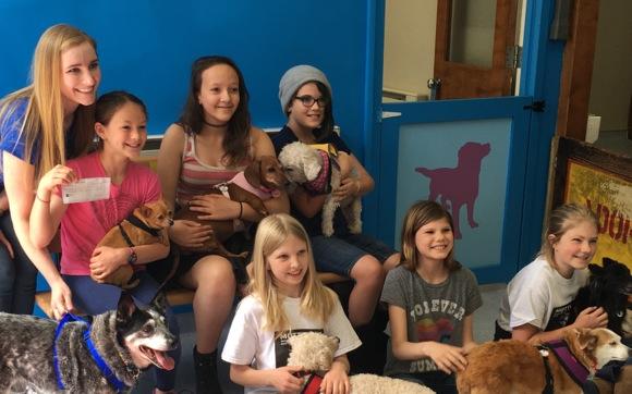 Menlo Park Girl Scout Troop's work on Bronze Award benefits two non-profits