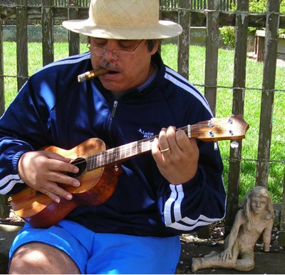 Post image for Ukulele master Hiram Kaailau Bell performs on April 20