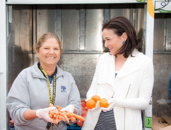 Post image for Facebook COO Sheryl Sandberg co-chairs Second Harvest Food Bank's Stand Up for Kids Campaign